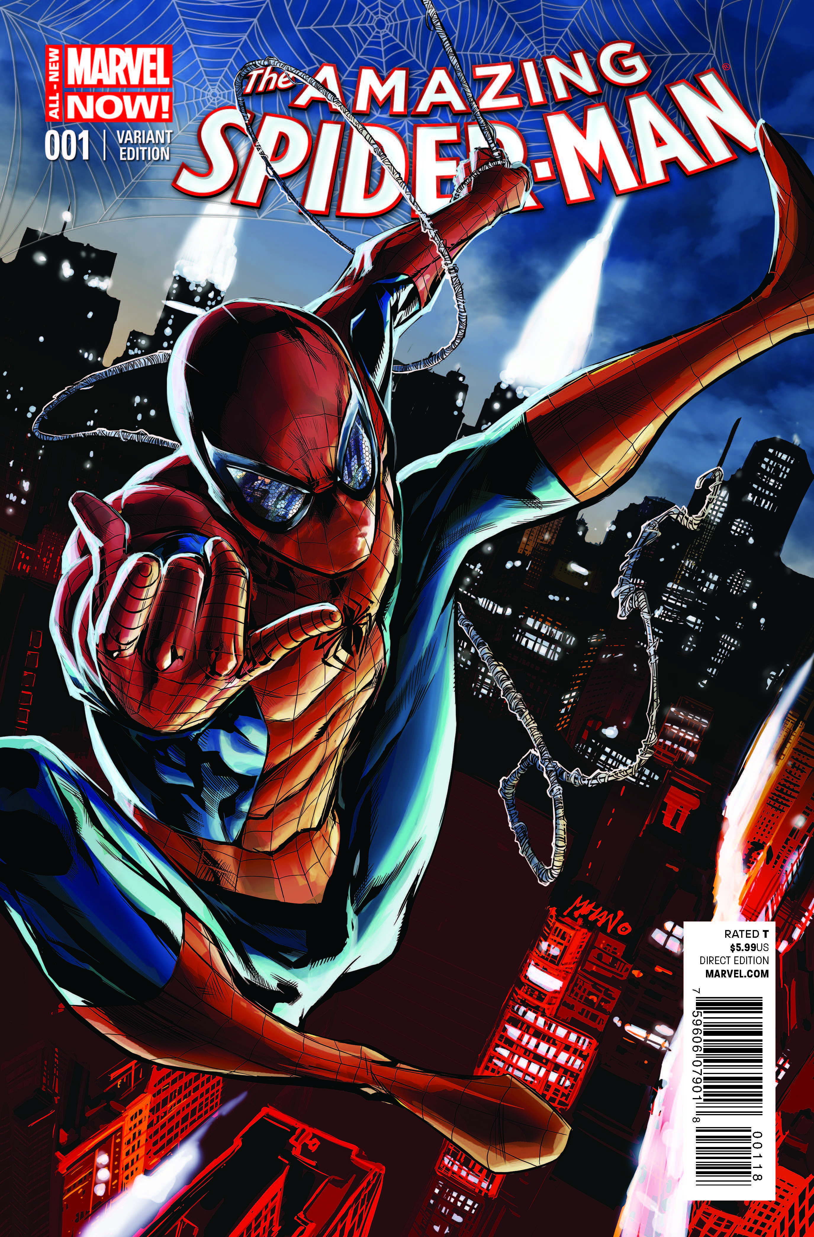The Amazing Spider-Man (2014) #1 (Mhan Variant)