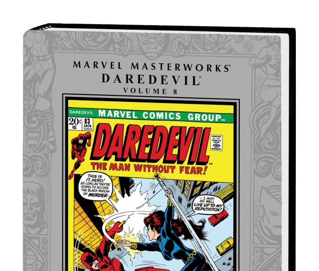 MARVEL MASTERWORKS: DAREDEVIL VOL. 8 HC