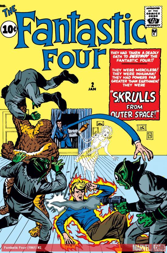 Fantastic Four (1961) #2