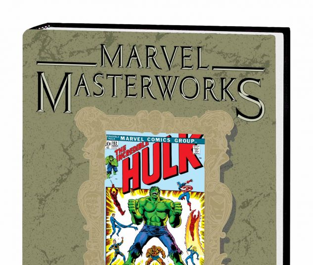 MARVEL MASTERWORKS: THE INCREDIBLE HULK VOL. 8 HC VARIANT (DM ONLY)