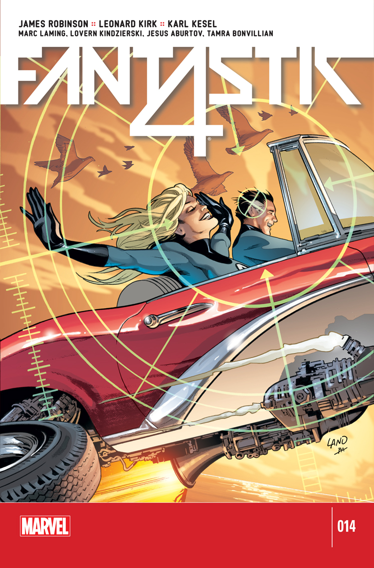 Fantastic Four (2014) #14