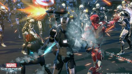 War Machine in Marvel Heroes 2015