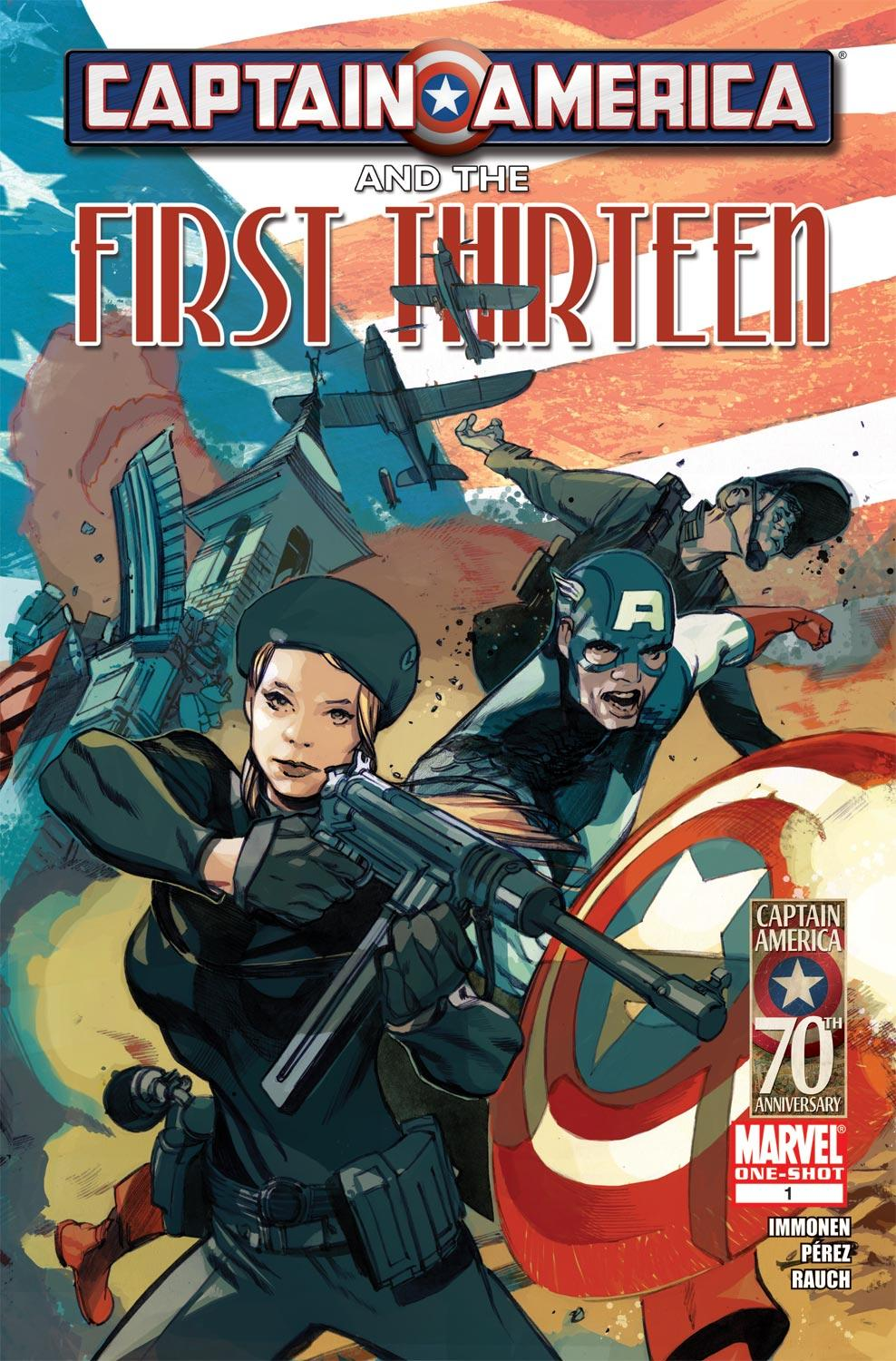 Captain America and the First Thirteen (2011) #1