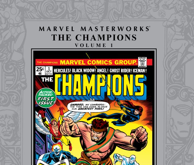 cover from Marvel Masterworks: The Champions (2016)