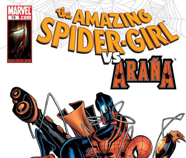 AMAZING SPIDER-GIRL (2006) #19 Cover