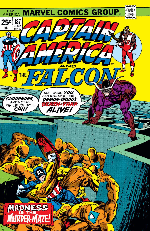 Captain America (1968) #187