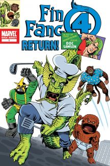 Fin Fang Four Return! (2009) #1