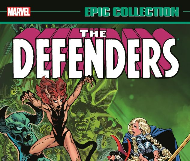 cover from Defenders Epic Collection: The Six-Fingered Hand (2016)