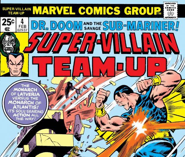 SUPER-VILLAIN TEAM-UP (1975) #4