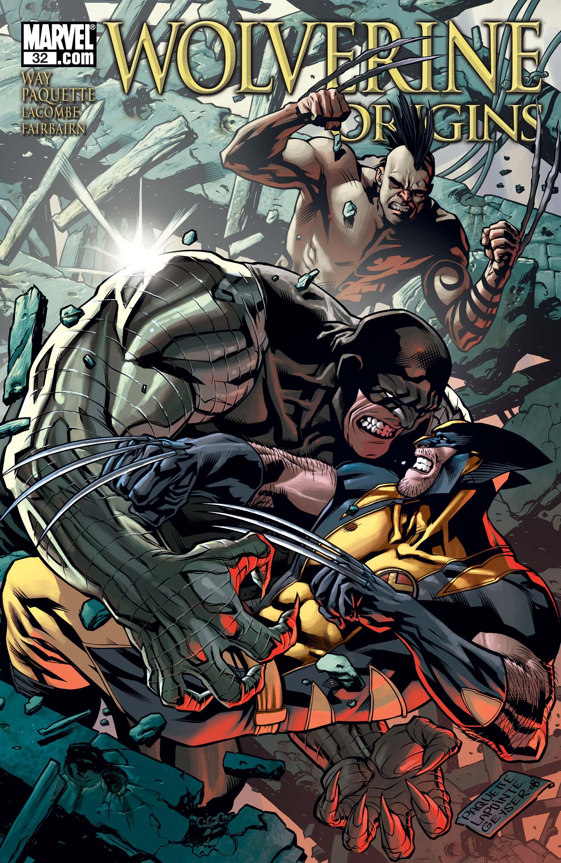 Wolverine Origins (2006) #32