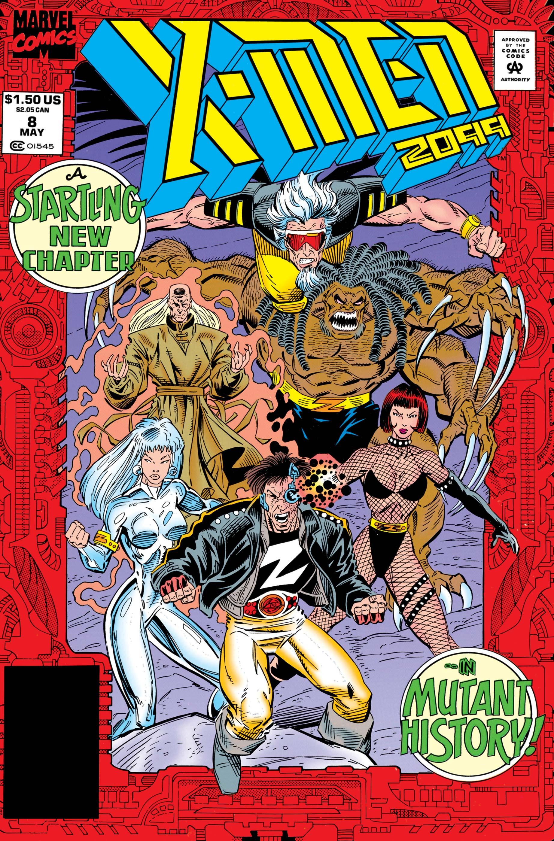 X-Men 2099 (1993) #8