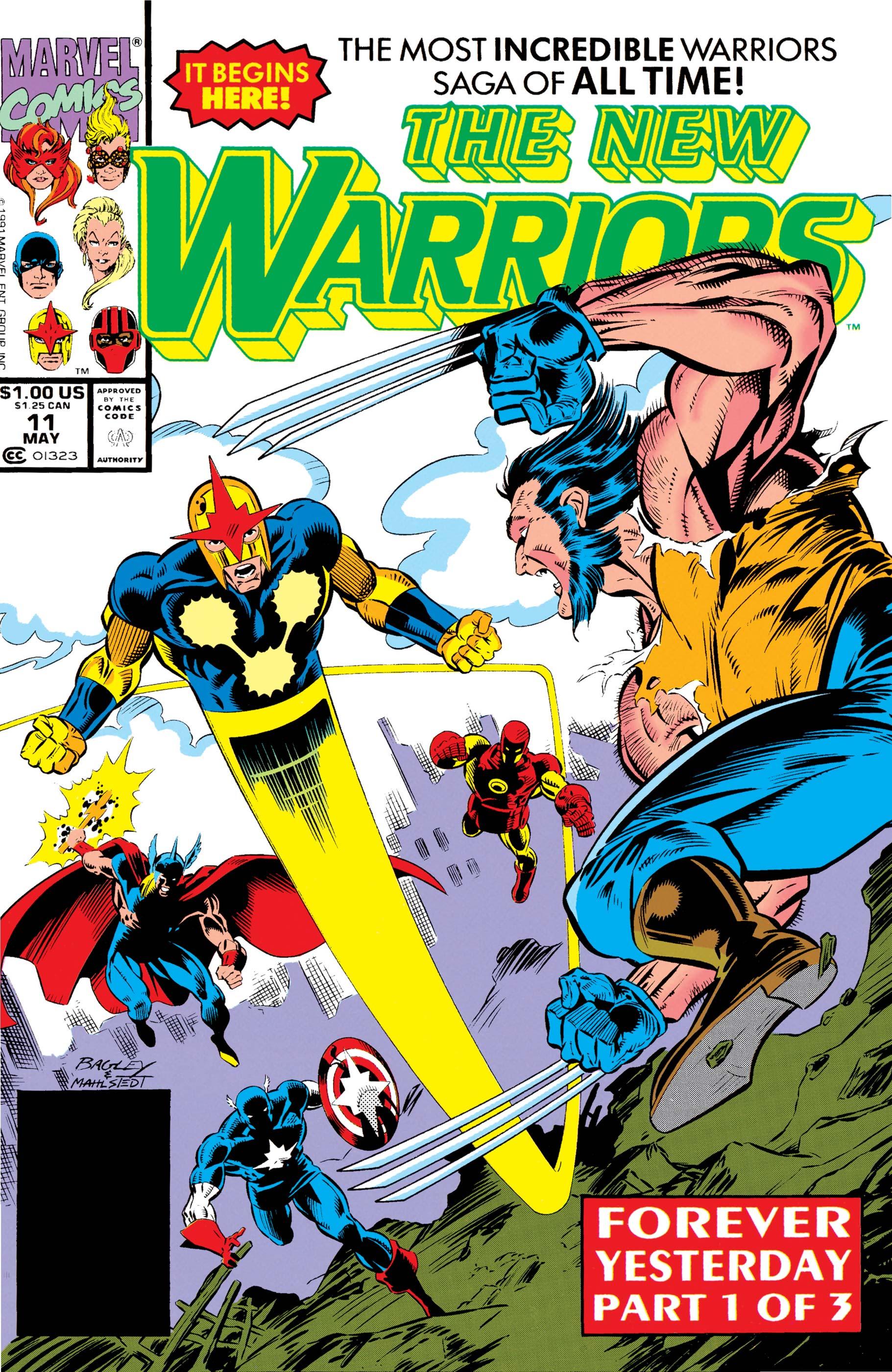 New Warriors (1990) #11