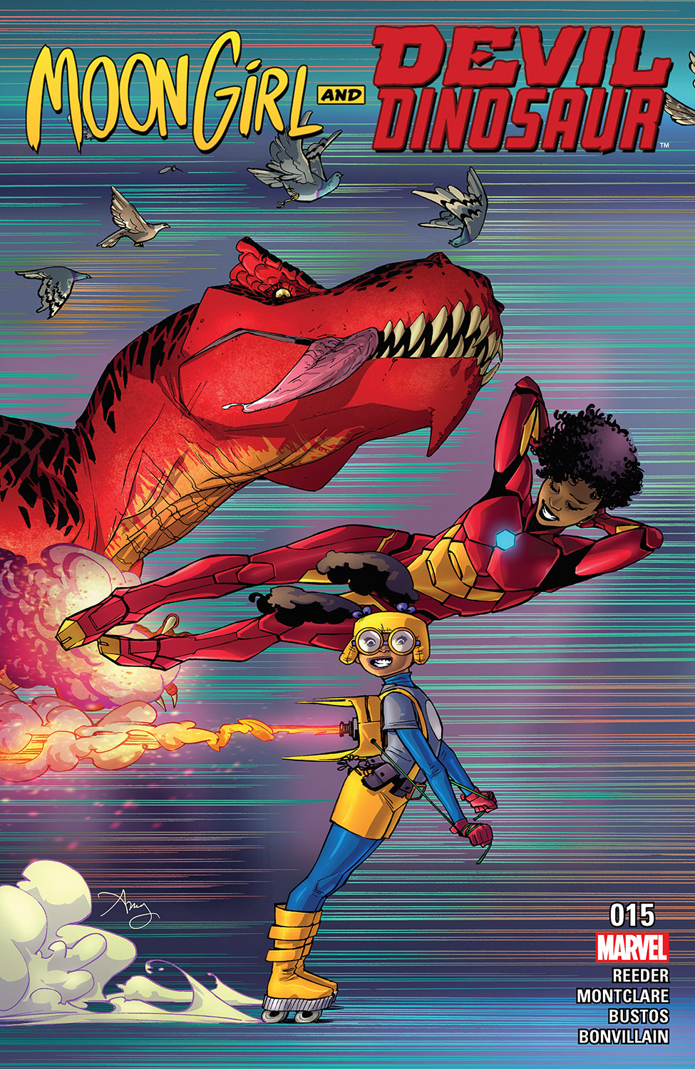 Moon Girl and Devil Dinosaur (2015) #15