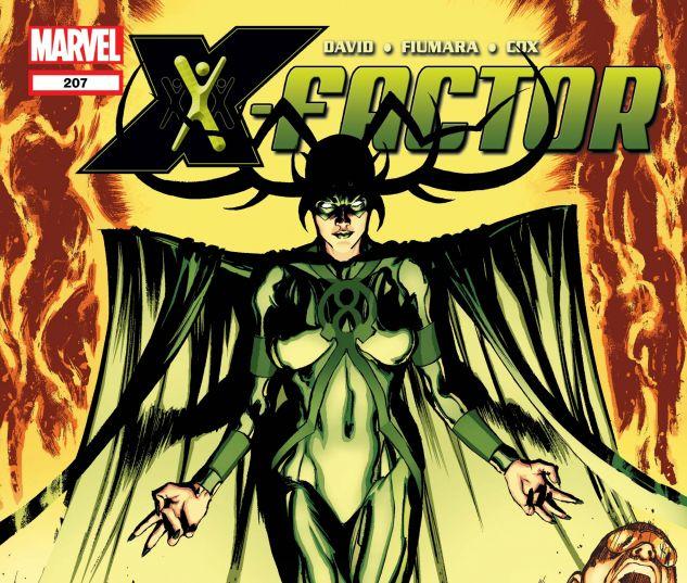 X-FACTOR (2005) #207
