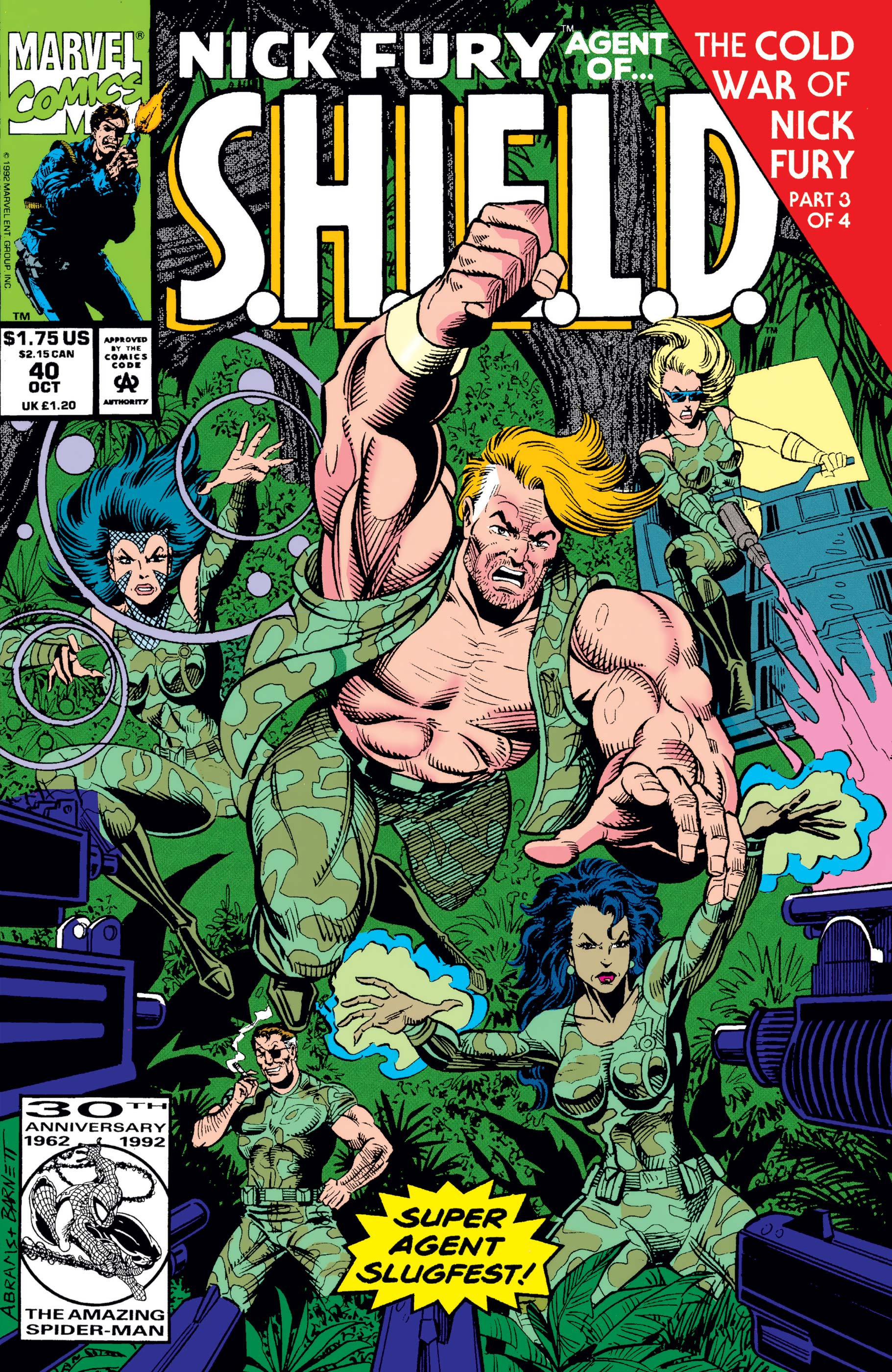 Nick Fury, Agent of S.H.I.E.L.D. (1989) #40