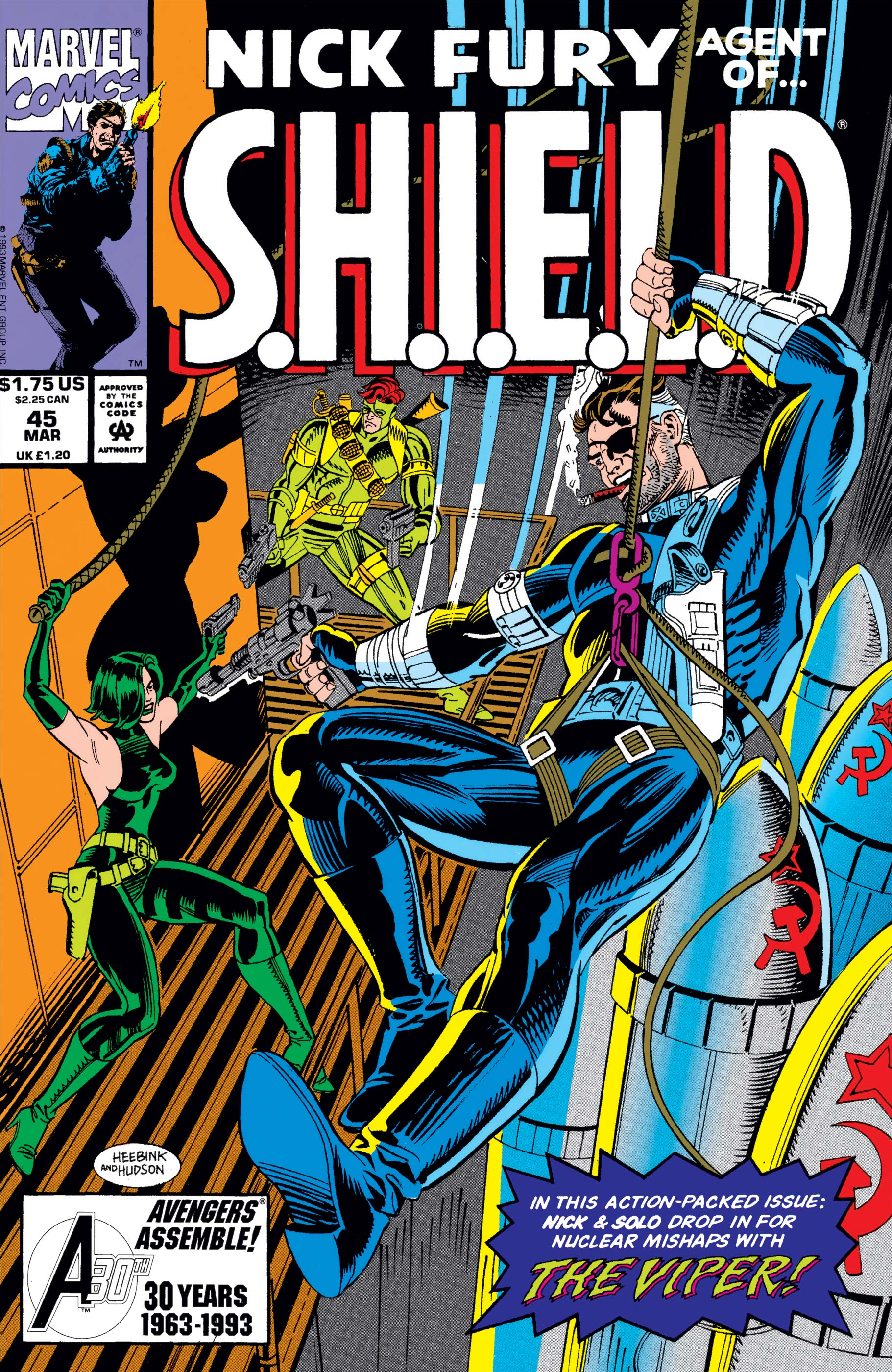 Nick Fury, Agent of S.H.I.E.L.D. (1989) #45