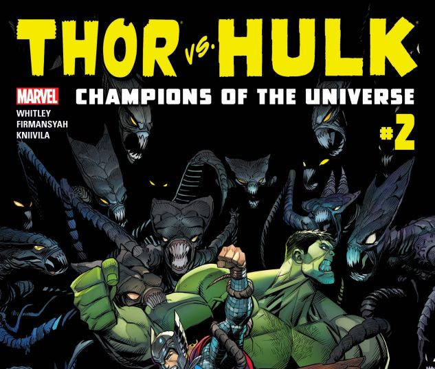 Thor & Hulk: CMX Digital Comic (2017) #2
