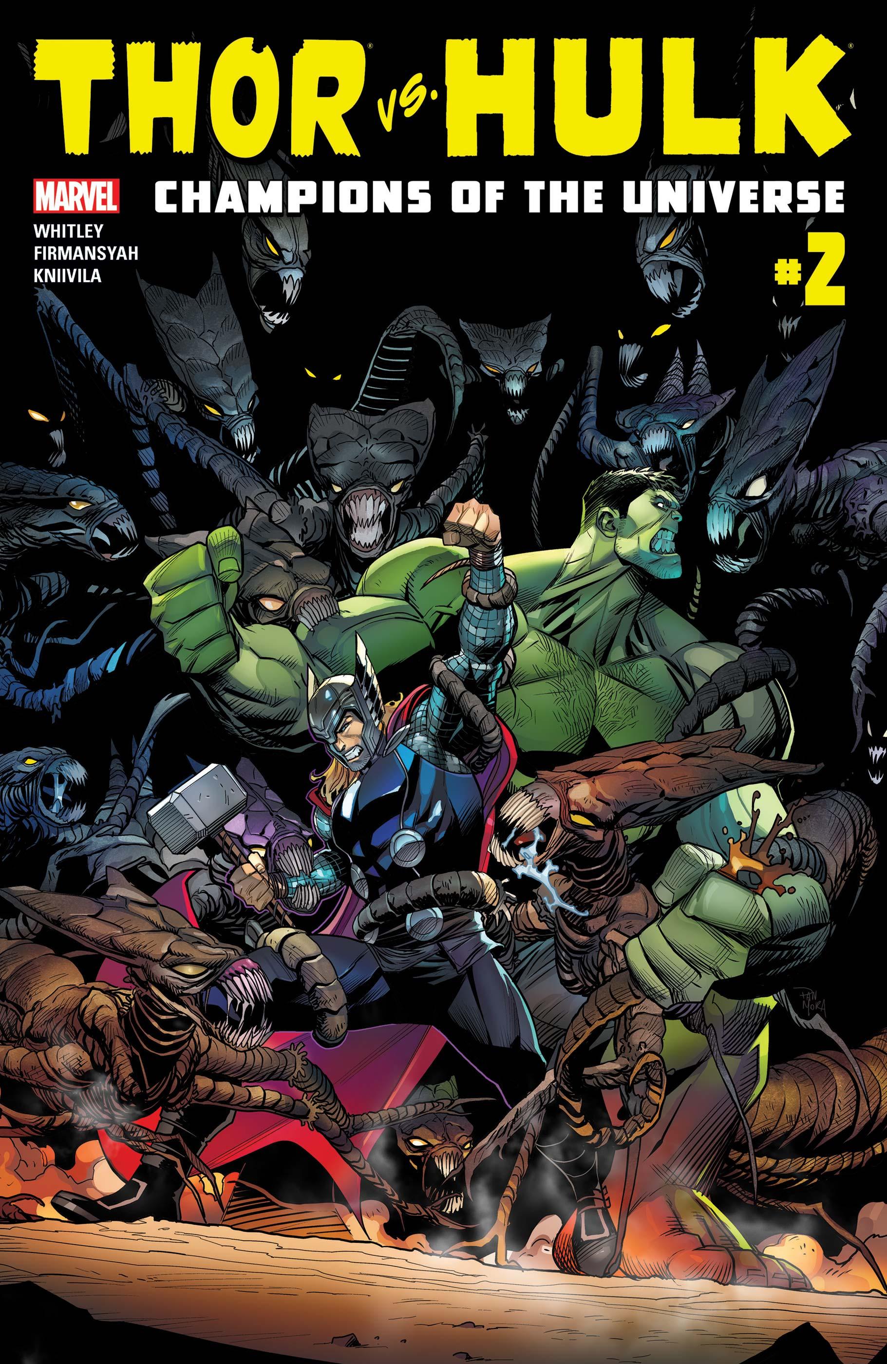 Thor Vs. Hulk - Champions of the Universe (2017) #2