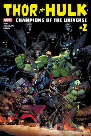 Thor Vs. Hulk - Champions of the Universe #2