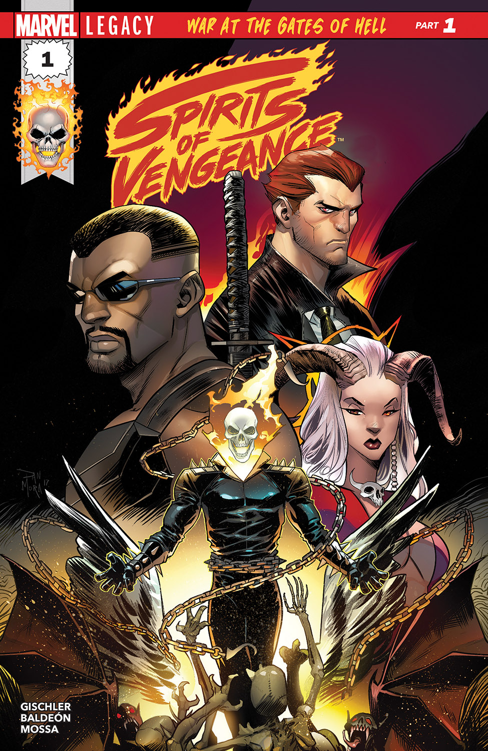 Spirits of Vengeance (2017) #1