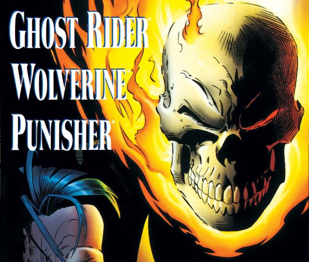 Cover for GHOST RIDER/WOLVERINE/PUNISHER: THE DARK DESIGN