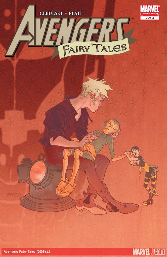 Avengers Fairy Tales (2008) #2
