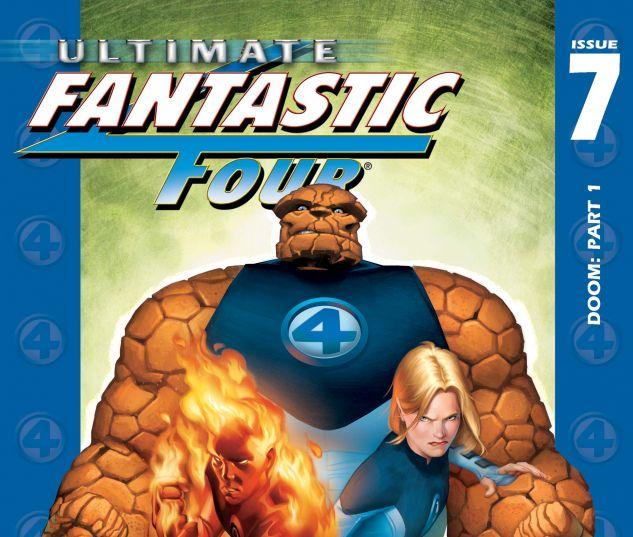 Ultimate Fantastic Four (2003) #7