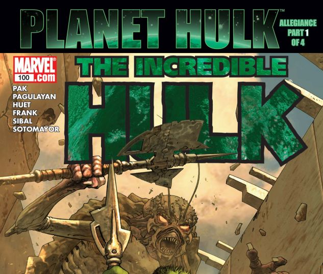 INCREDIBLE HULK (1999) #100