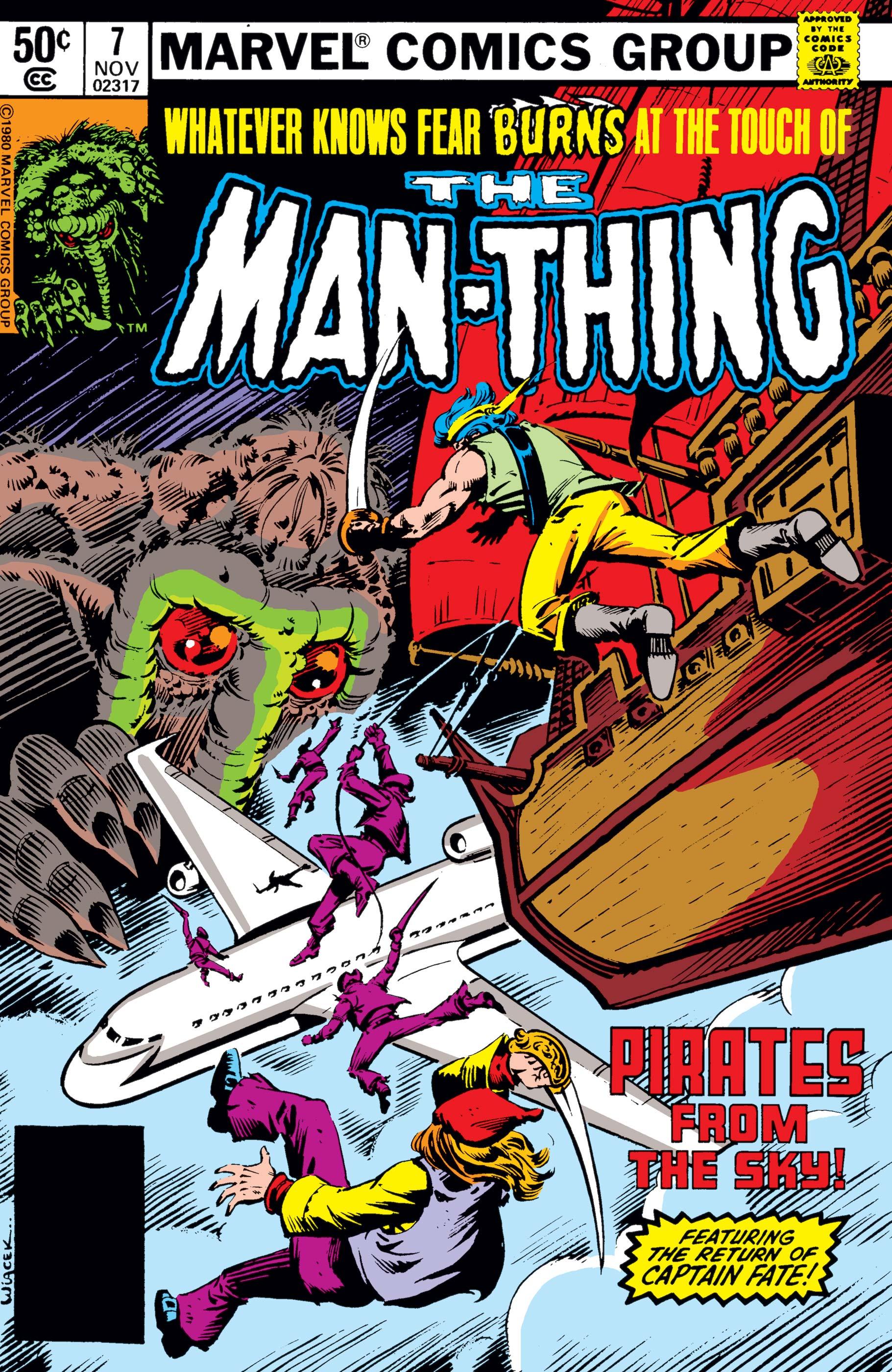 Man-Thing (1979) #7