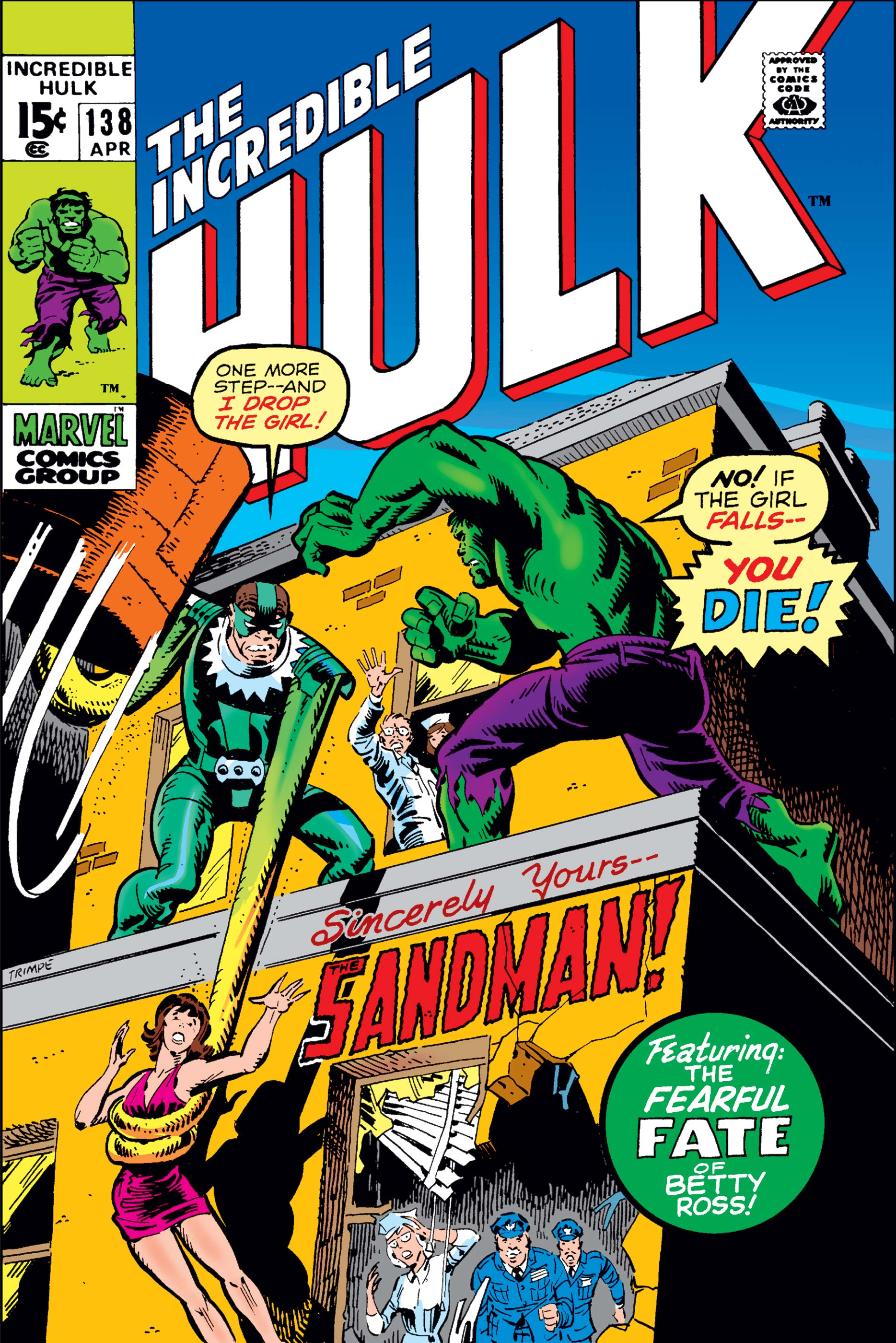 Incredible Hulk (1962) #138
