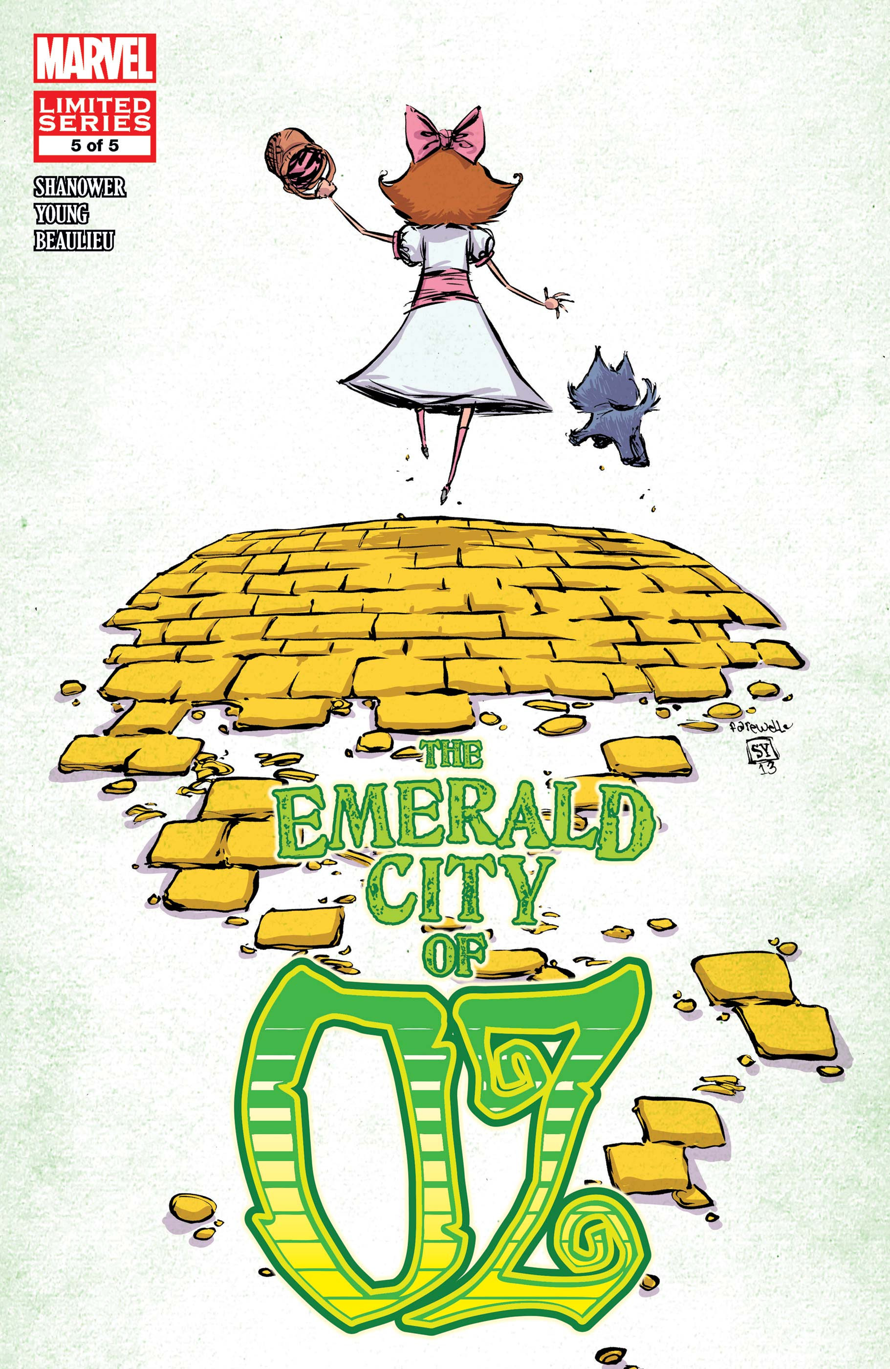 The Emerald City of Oz (2013) #5