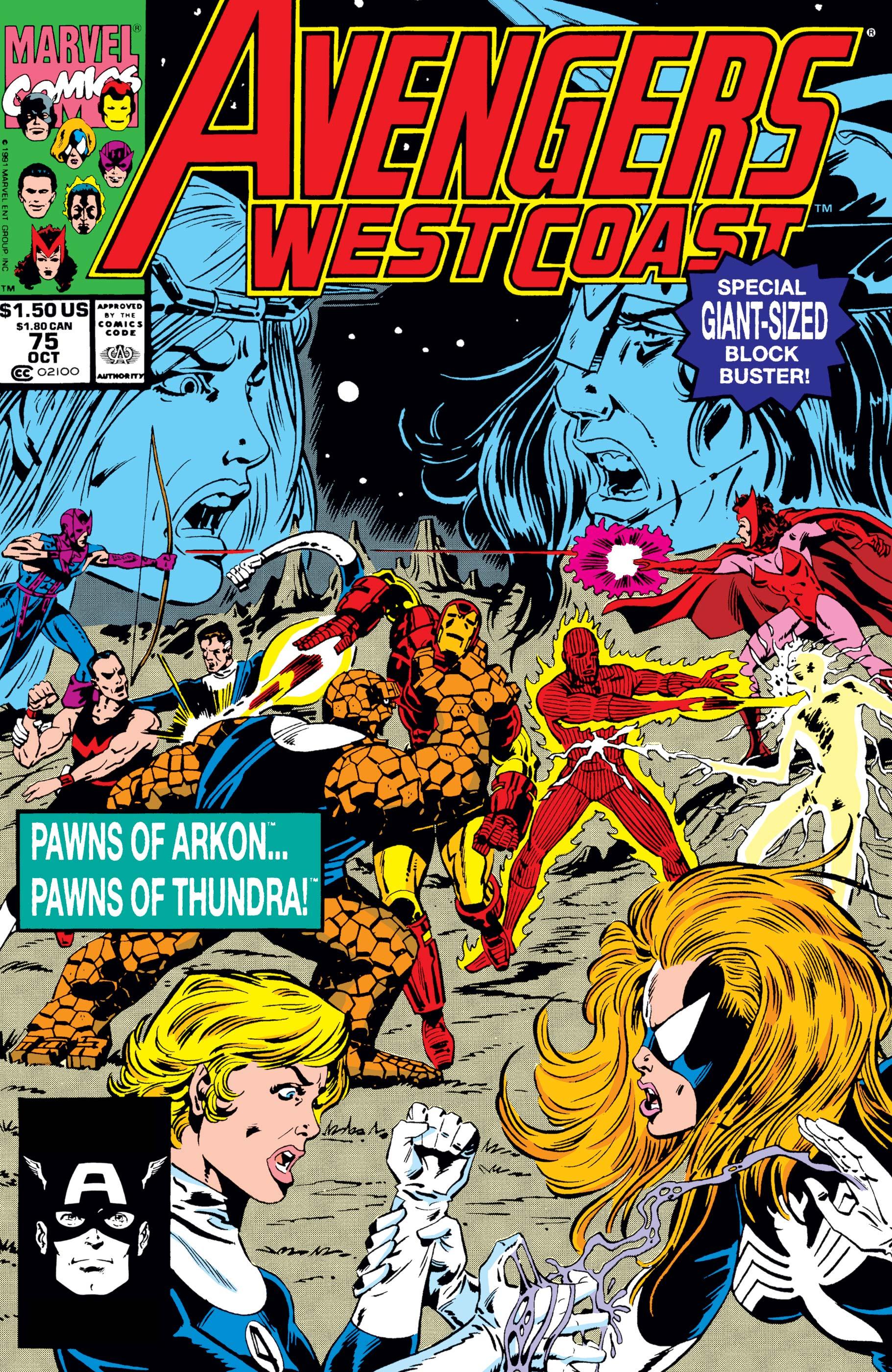 West Coast Avengers (1985) #75