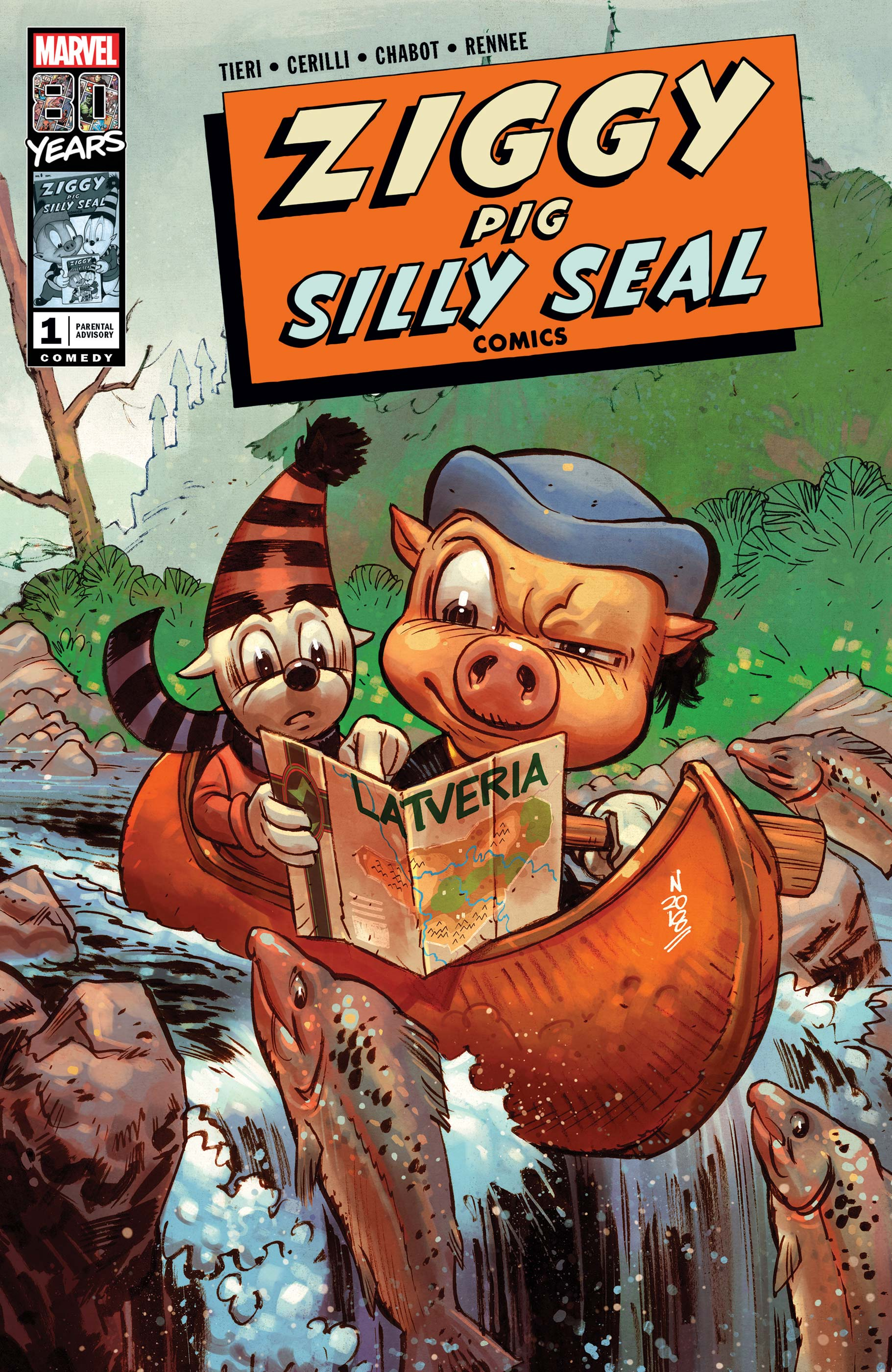 Ziggy Pig - Silly Seal Comics (2019) #1