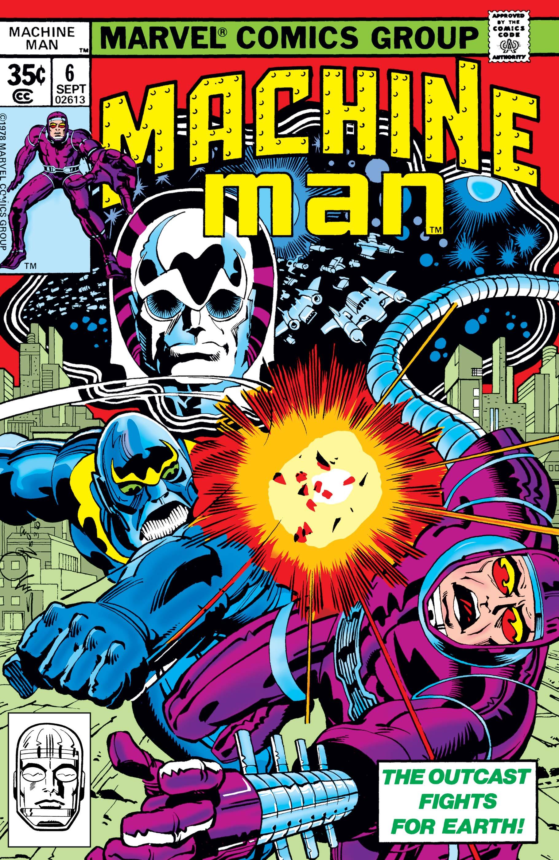Machine Man (1978) #6