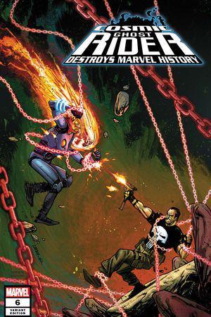 Cosmic Ghost Rider Destroys Marvel History (2019) #6 (Variant)