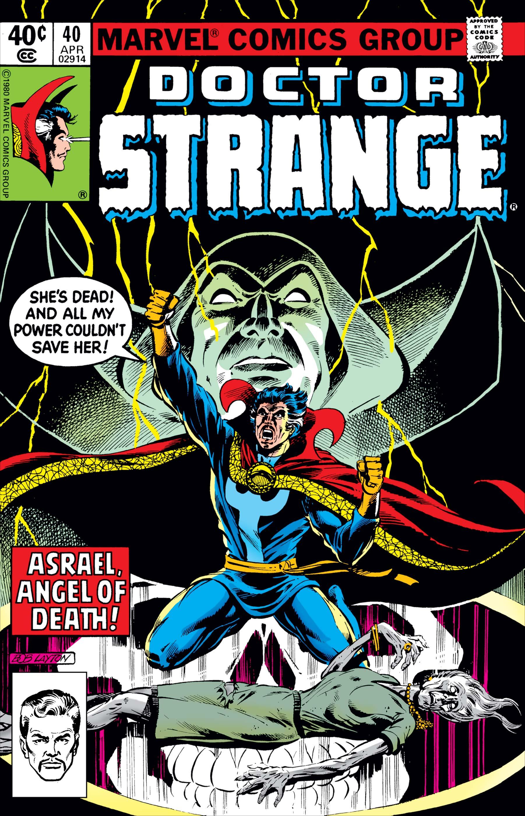 Doctor Strange (1974) #40