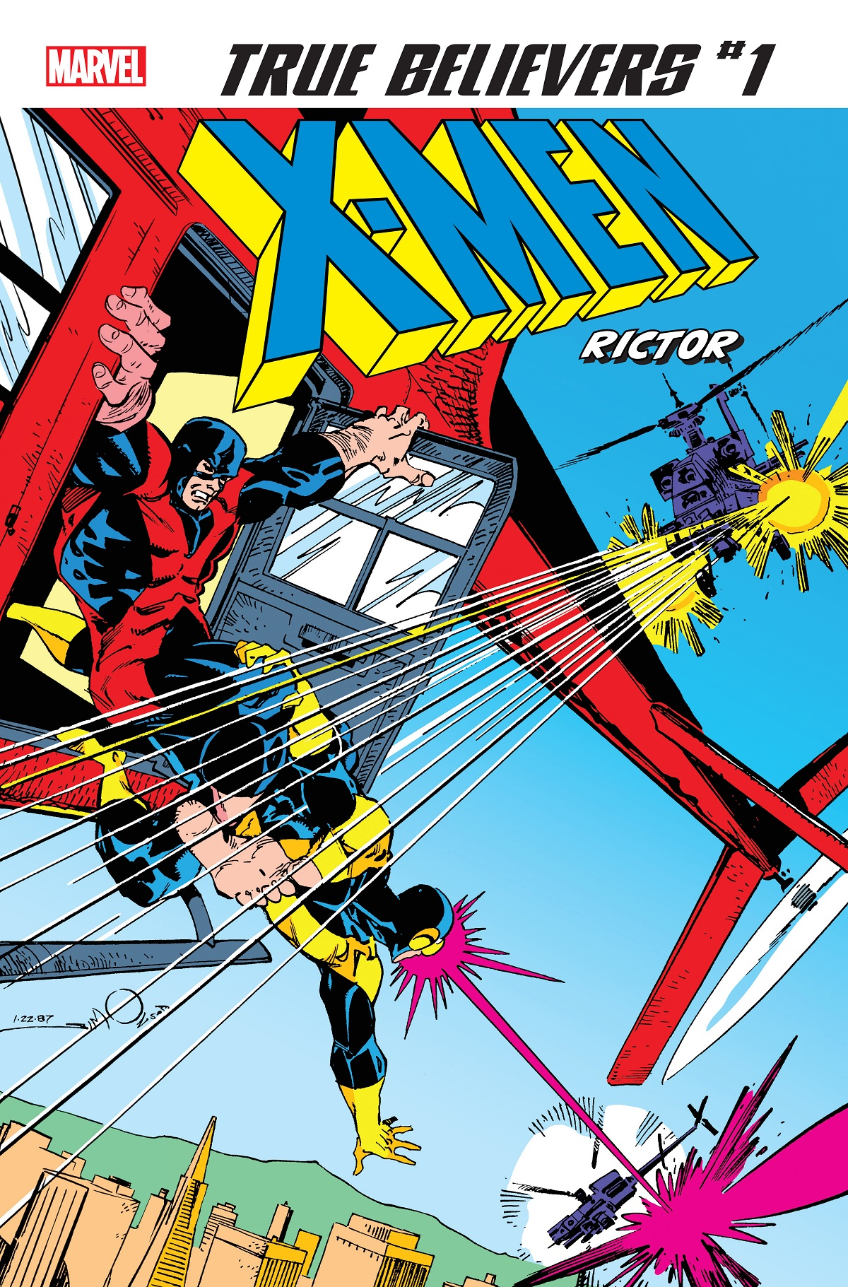 True Believers: X-Men - Rictor (2019) #1