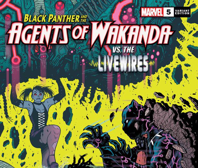 Black Panther and the Agents of Wakanda #5