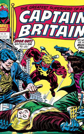 Captain Britain (1976) #28