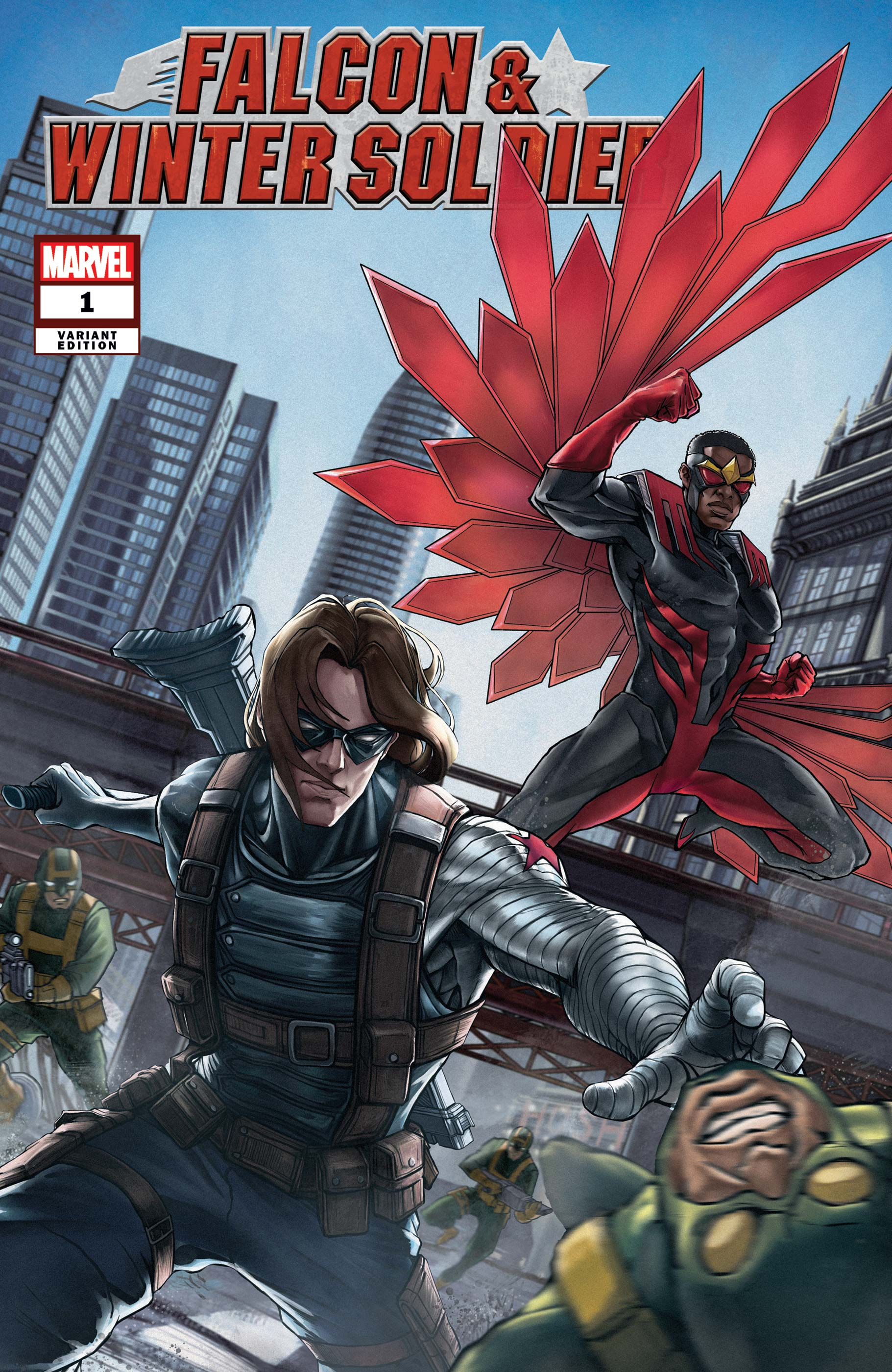 Falcon & Winter Soldier (2020) #1 (Variant)