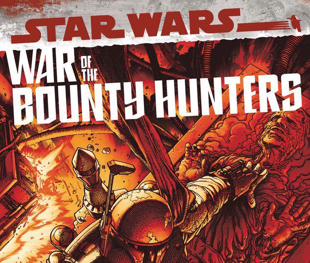 STAR WARS: WAR OF THE BOUNTY HUNTERS ALPHA 1 MCNIVEN CRIMSON VARIANT #1