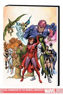 Official Handbook of the Marvel Universe a to Z Vol. 10 (Hardcover)
