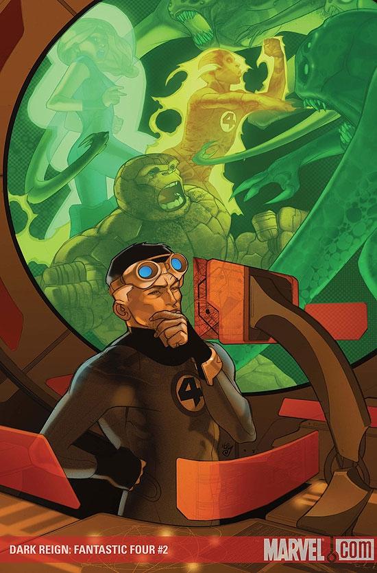 Dark Reign: Fantastic Four (2009) #2
