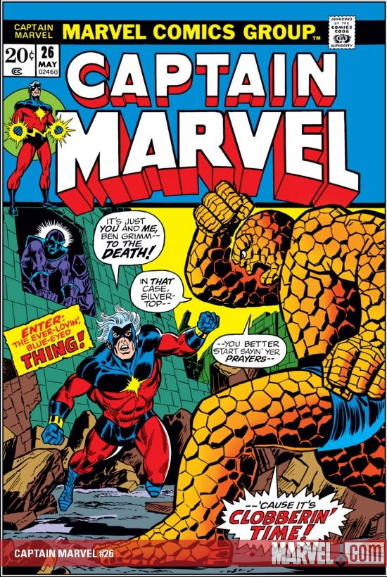 Captain Marvel (1968) #26