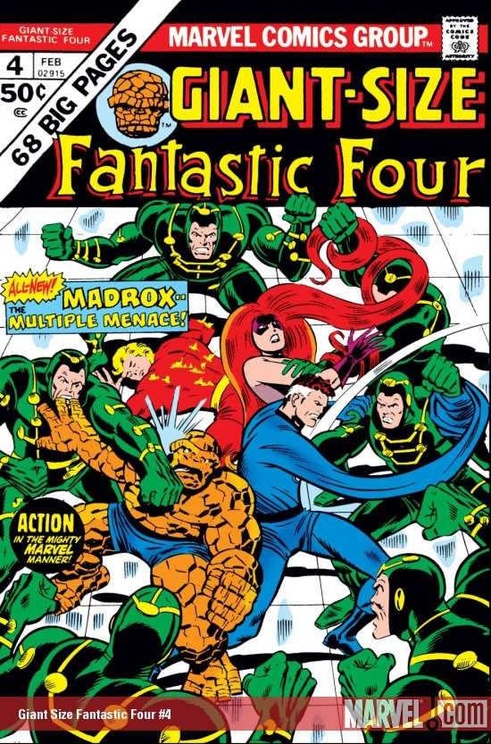 Giant-Size Fantastic Four (1974) #4