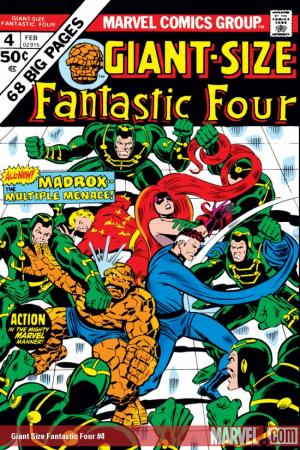 Giant-Size Fantastic Four #4