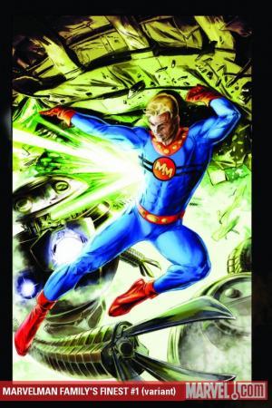 Marvelman Family's Finest #1  (VARIANT)