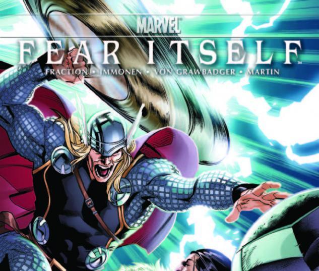 Fear Itself (2010) #4, Immonen Variant