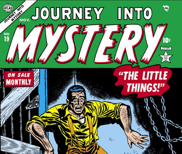 Journey Into Mystery (1952) #19 Cover