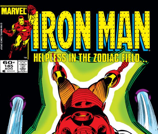 Iron Man (1968) #185 Cover